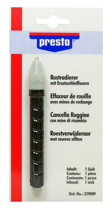 Effaceur de rouille Protection contre la corrosion Presto 620149200000 Photo no. 1