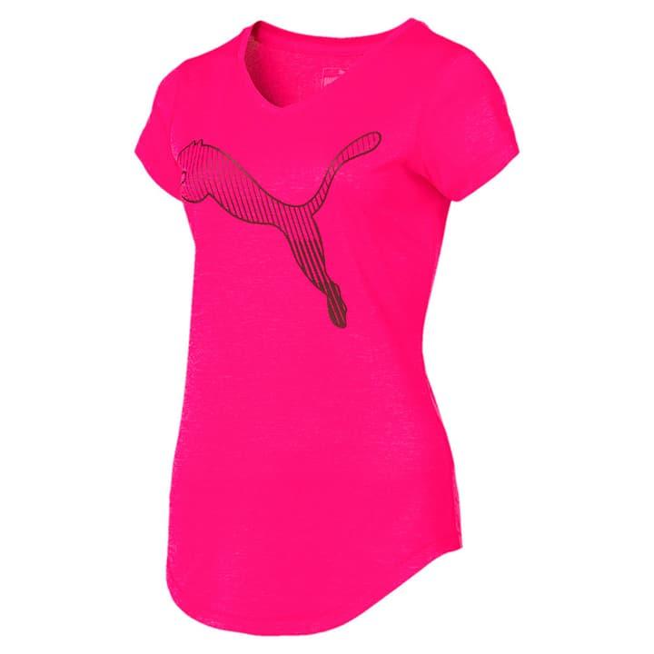 Heather Cat Tee Damen-T-Shirt Puma 464965600429 Farbe pink Grösse M Bild-Nr. 1