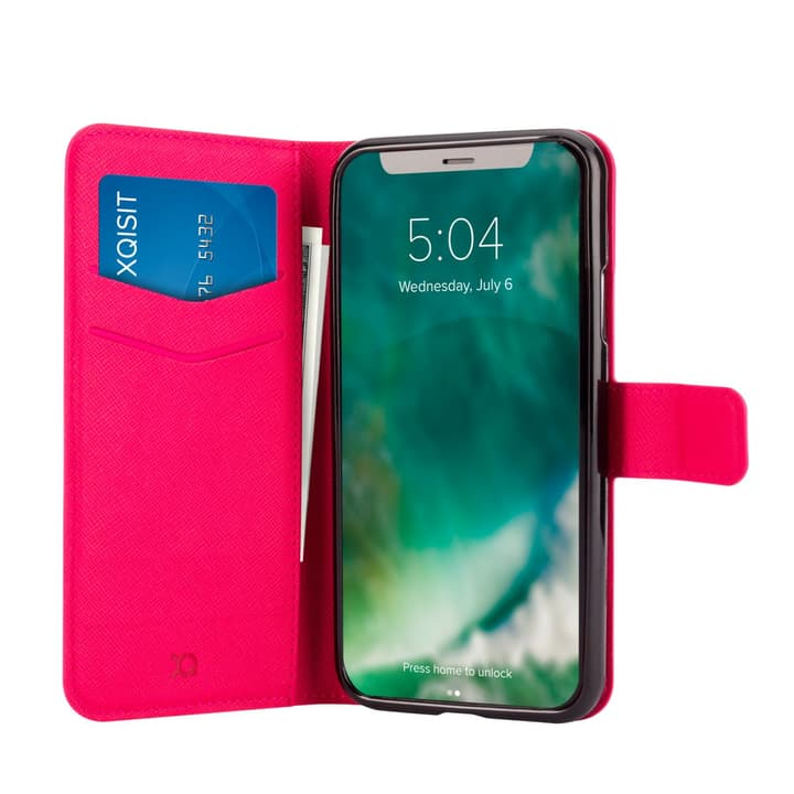 Case Viskan rosé vif Coque XQISIT 798601500000 Photo no. 1