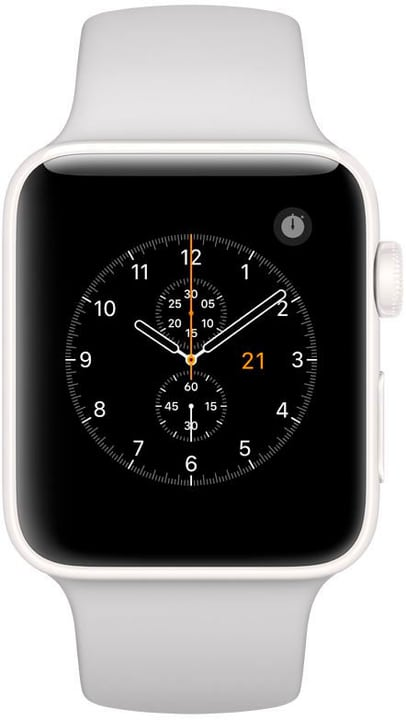 Watch Edition GPS/LTE 42mm white/pebble Apple 785300130756 Bild Nr. 1