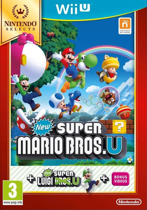 Wii U - New Super Mario Bros. U + New Super Luigi U Box 785300120987 N. figura 1