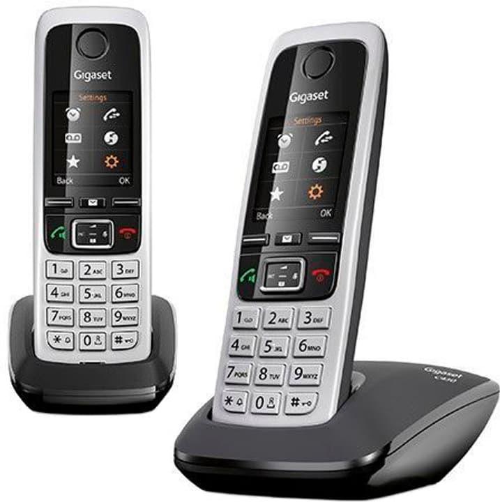 C430 Duo noir Téléphone fixe Gigaset 785300127763 Photo no. 1