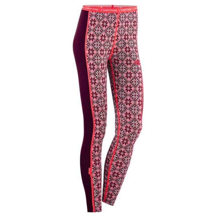 Rose Damen-Unterhose lang Kari Traa 477083100388 Farbe bordeaux Grösse S Bild-Nr. 1