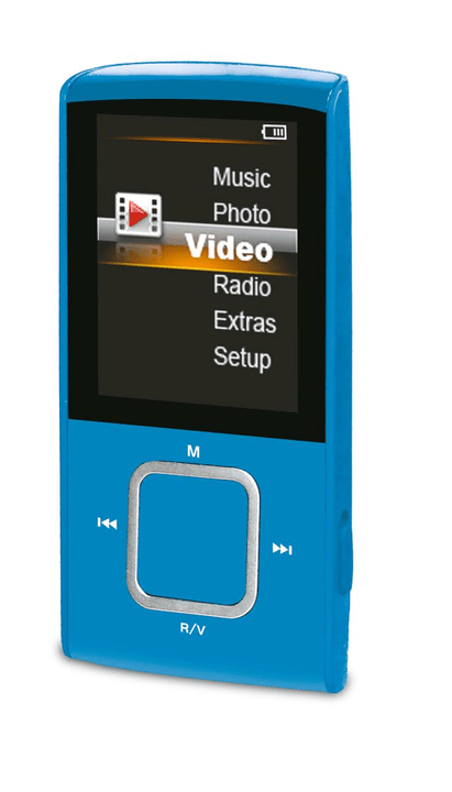 A8 - Bleu MP3 Player Durabase 773557800000 Photo no. 1