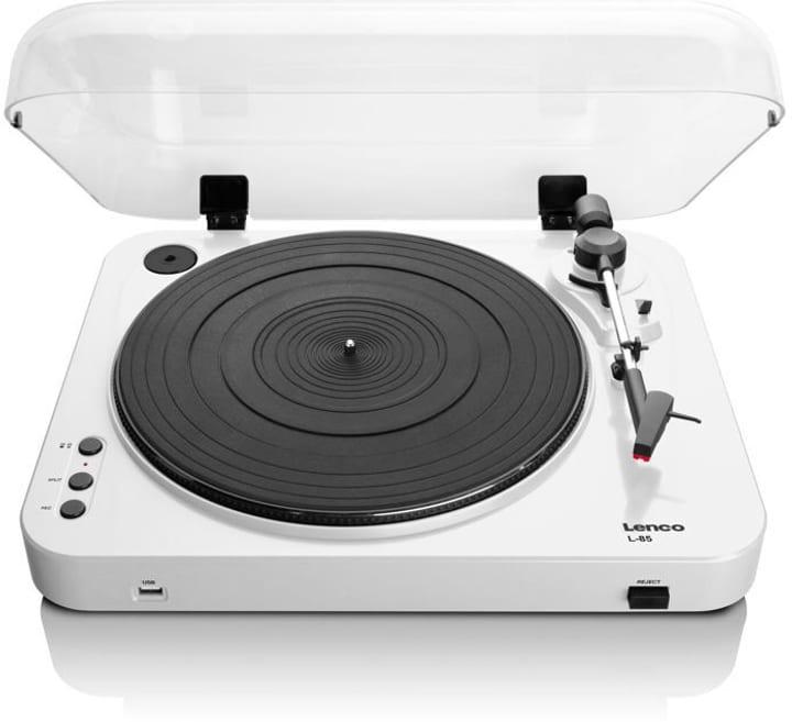 L-85 - Blanc Tourne-disques Lenco 785300151930 Photo no. 1