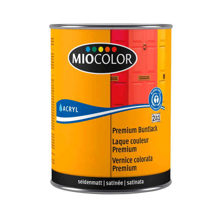 MOOD  LAQUE PREM SAT NOIR FONCE Miocolor 661461600000 Colore Nero N. figura 1