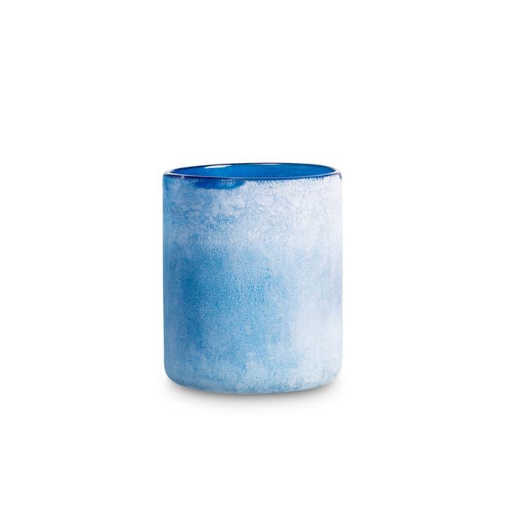 FROSTED Porte-bougies chauffe-plat 396064400000 Dimensions L: 12.0 cm x P: 12.0 cm x H: 14.0 cm Couleur Bleu foncé Photo no. 1