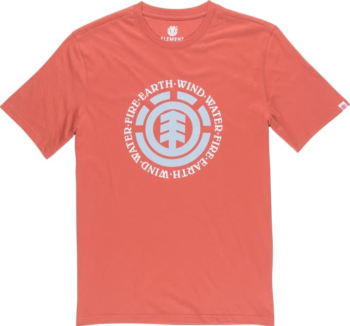 Seal SS Herren-T-Shirt Element 464218400430 Farbe rot Grösse M Bild-Nr. 1