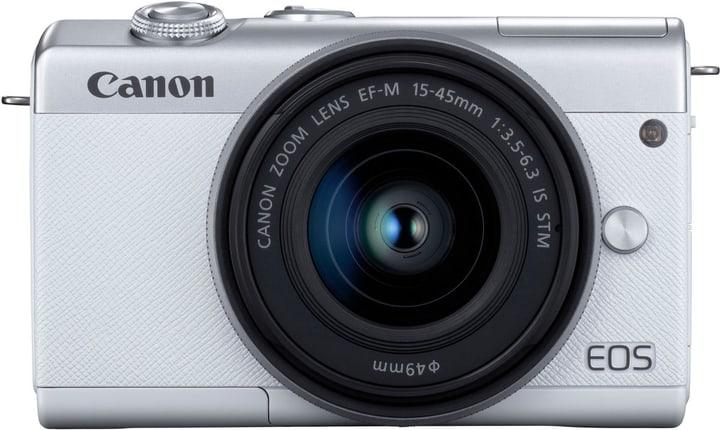 Canon EOS M200 + 15-45mm Blanc Set appareil photo rhybrid 785300147486 Photo no. 1