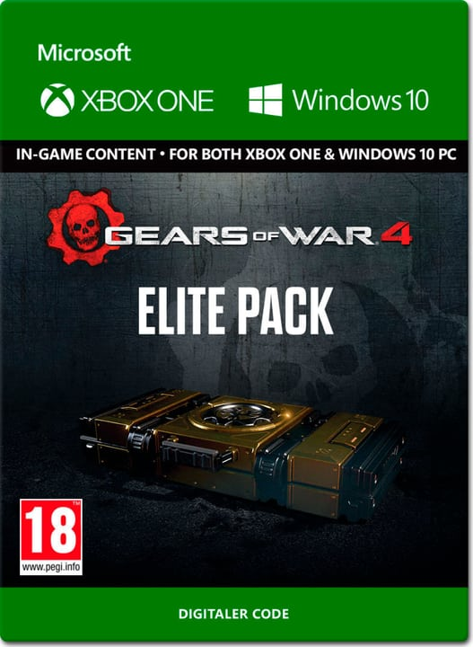 Xbox One - Gears of War 4 Elite Pack Download (ESD) 785300137319 Photo no. 1