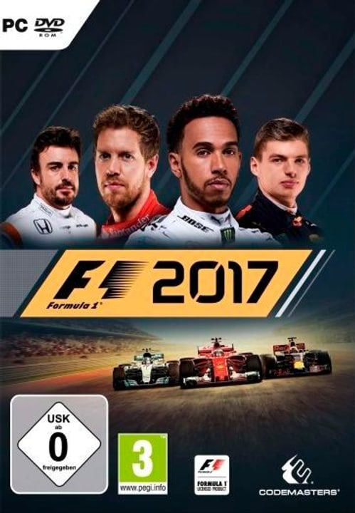 PC - F1 2017 Box 785300129719 N. figura 1