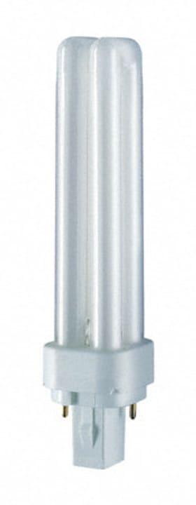 Dulux G24D-2 18W Lamp. rispar. energia 827 Osram 421006900000 N. figura 1