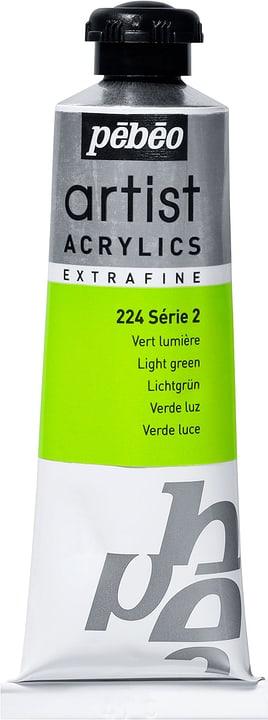 Pébéo Acrylic Extrafine Pebeo 663509022400 Colore Verde Luce N. figura 1