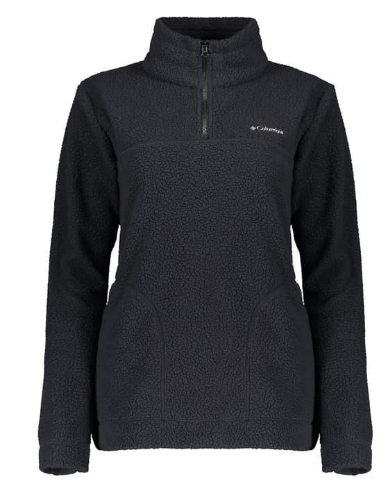 Canyon Point Sherpa Pullover Pullover en polaire pour femme Columbia 462542300580 Couleur gris Taille L Photo no. 1