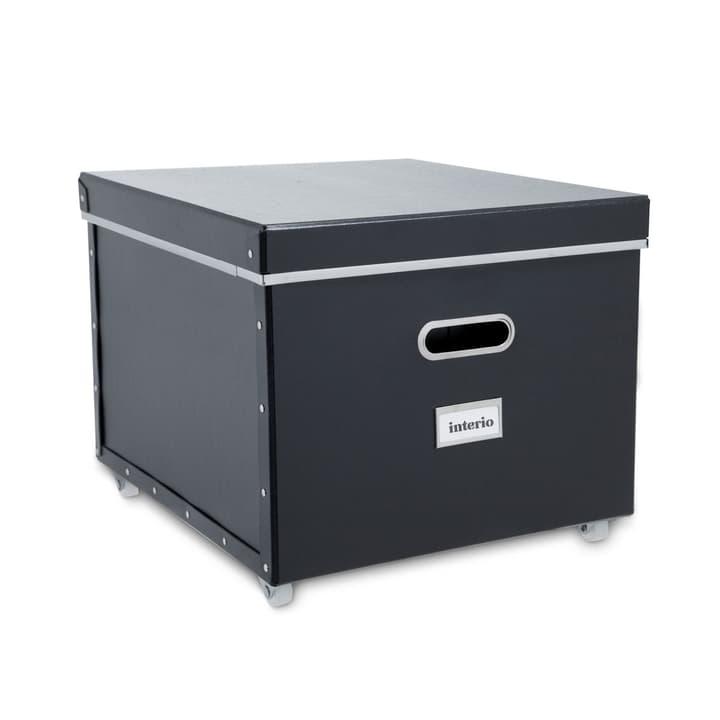 BIGSO Box mit Rollen 386241600000 Grösse B: 40.0 cm x T: 35.5 cm x H: 27.5 cm Farbe Schwarz Bild Nr. 1