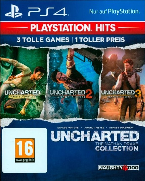 PS4 - PlayStation Hits: Uncharted Collection D Box 785300142864 Photo no. 1
