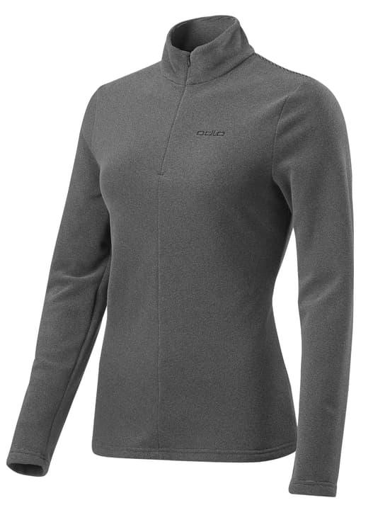 1/2 Zip Roy Damen-Fleece mit 1/2 Zip Odlo 477065000380 Farbe grau Grösse S Bild-Nr. 1