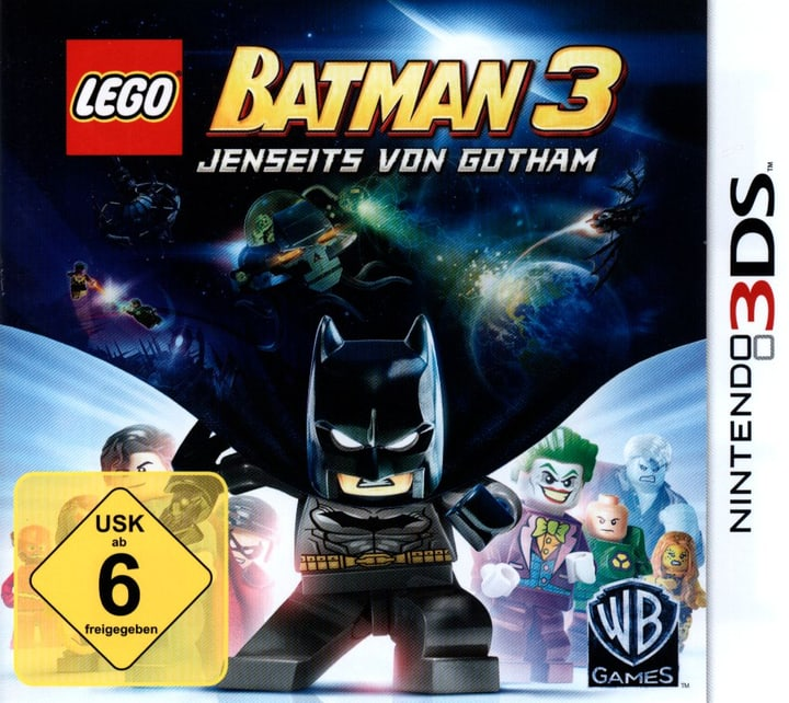 3DS - LEGO Batman 3 - Jenseits von Gotham Fisico (Box) 785300121838 N. figura 1
