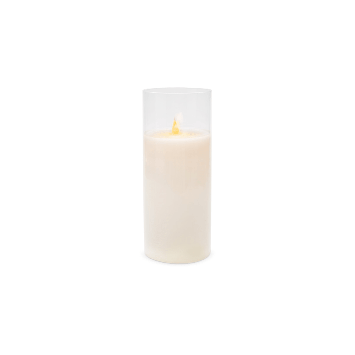 LARS LED bougie 390244400000 Dimensions H: 25.0 cm Couleur Blanc Photo no. 1
