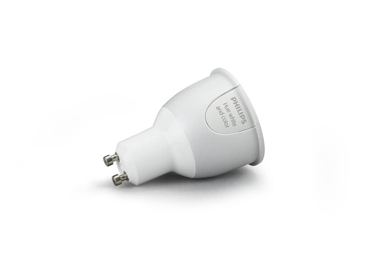 Hue White and color ambiance Einzelne Lampe, GU10 Philips 615056200000 Bild Nr. 1