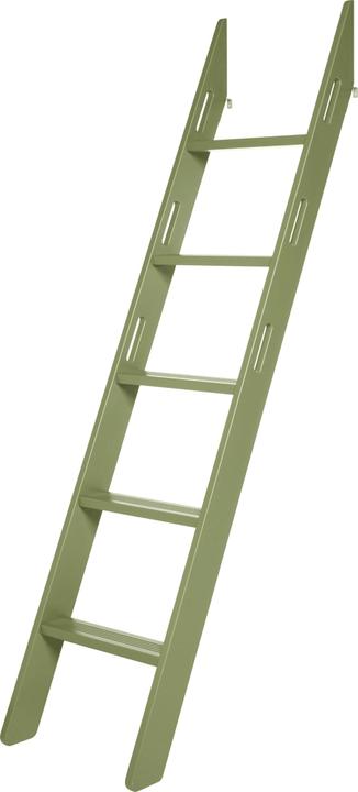 FLEXA POPSICLE Échelle pour lit surélevé Flexa 404973700000 Dimensions L: 11.4 cm x P: 11.8 cm x H: 213.5 cm Couleur Vert Photo no. 1