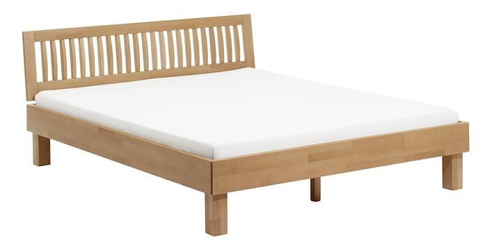WOODLINE Bett HASENA 403248900000 Farbe Kernbuche Grösse B: 200.0 cm x T: 220.0 cm Bild Nr. 1