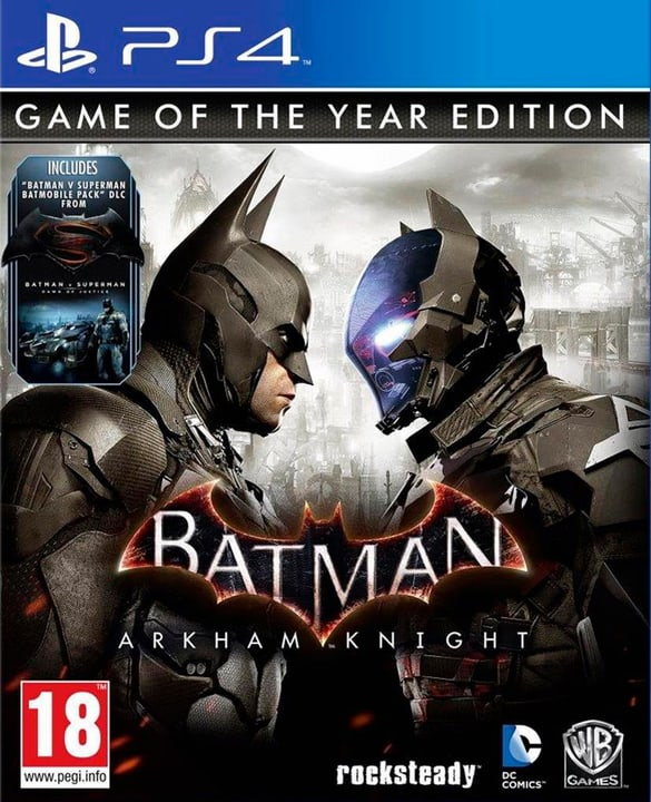 PS4 - Batman: Arkham Knight GOTY Physique (Box) 785300121247 Photo no. 1