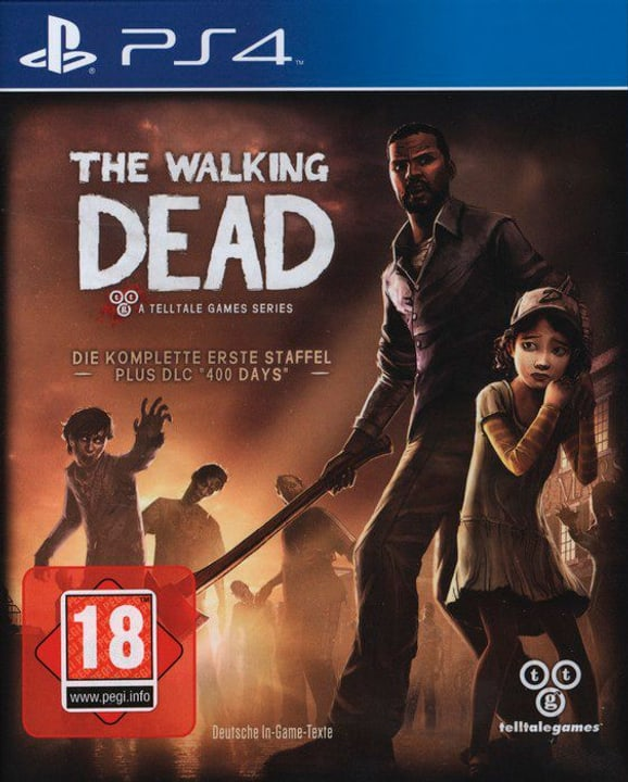 PS4 - The Walking Dead - Game of the Year Edition D Fisico (Box) 785300130597 N. figura 1