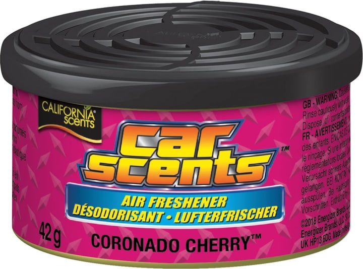 Car Scents Coronado Cherry Lufterfrischer CALIFORNIA SCENTS 620272800000 Bild Nr. 1