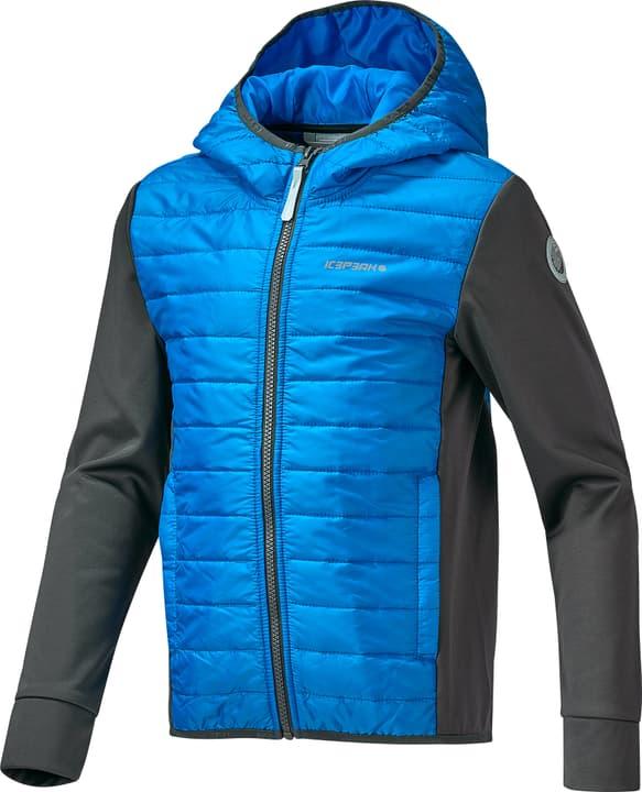 Tobin Knaben-Hybridjacke Icepeak 464539114040 Couleur bleu Taille 140 Photo no. 1
