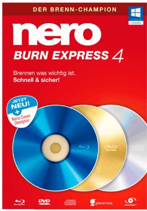 Burn Express 4 Deutsch Physisch (Box) Nero 785300126433 Bild Nr. 1