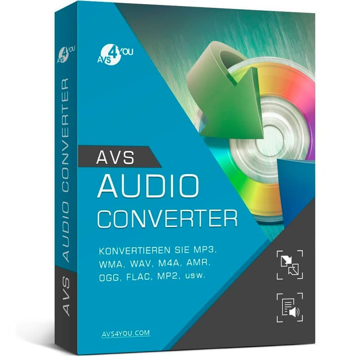 AVS Audio Converter incl. Activation-Key PC Digitale (ESD) 785300134039 N. figura 1