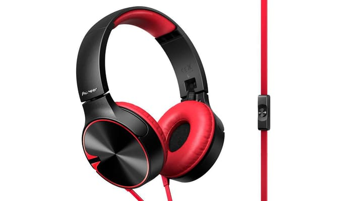 SE-MJ722T-R Cuffie On-Ear rouge Pioneer 785300122777 Photo no. 1