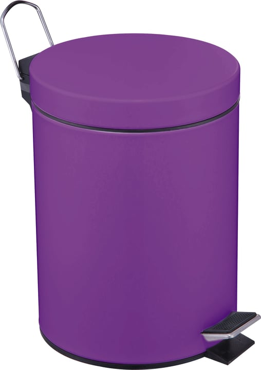 Poubelle a pedale Colour Edition Do it + Garden 675000900000 Couleur Violet Taille 3l Photo no. 1