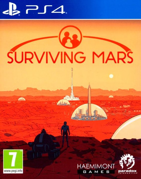 PS4 - Surviving Mars  (F) Box 785300132428 Photo no. 1