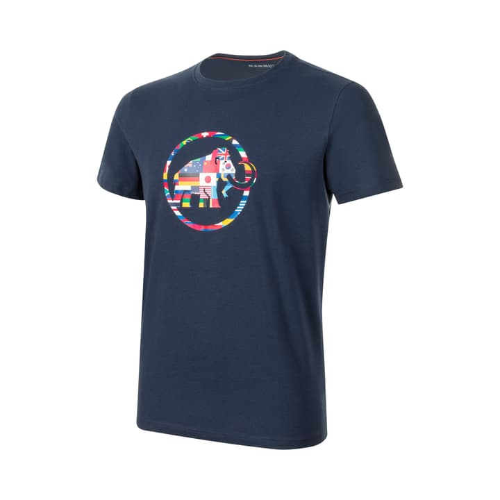 Nations Herren-T-Shirt Mammut 465780800343 Farbe marine Grösse S Bild-Nr. 1