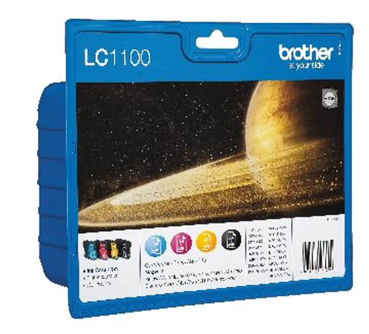 LC-1100 VALUE Multipack Cartuccie d'inchiostro Cartuccia d'inchiostro Brother 797512600000 N. figura 1