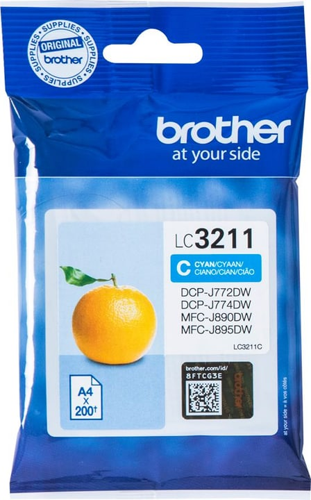 LC-3211C cyan Cartouche d'encre Brother 798546200000 Photo no. 1