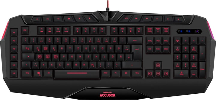 Advanced Gaming Keyboard Speedlink 785300136565 Photo no. 1