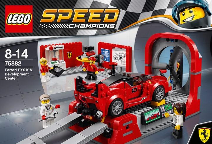 LEGO Speed Champions Ferrari FXX K e galleria del vento 75882 748838300000 N. figura 1