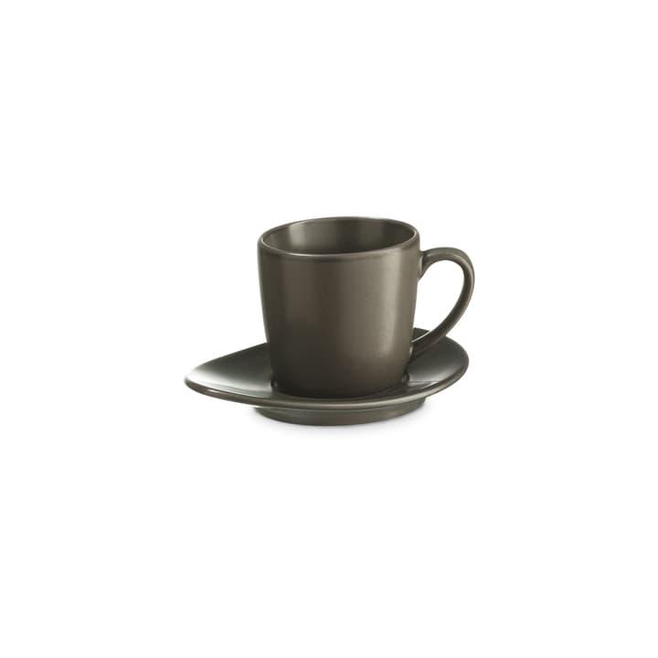 CUBA Tazza da espresso on piattino ASA 393219800680 Colore Grigio Dimensioni L: 5.5 cm x P: 5.5 cm x A: 5.0 cm N. figura 1