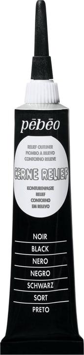 Cerne Relief nero Pebeo 663506400000 Colore Nero N. figura 1