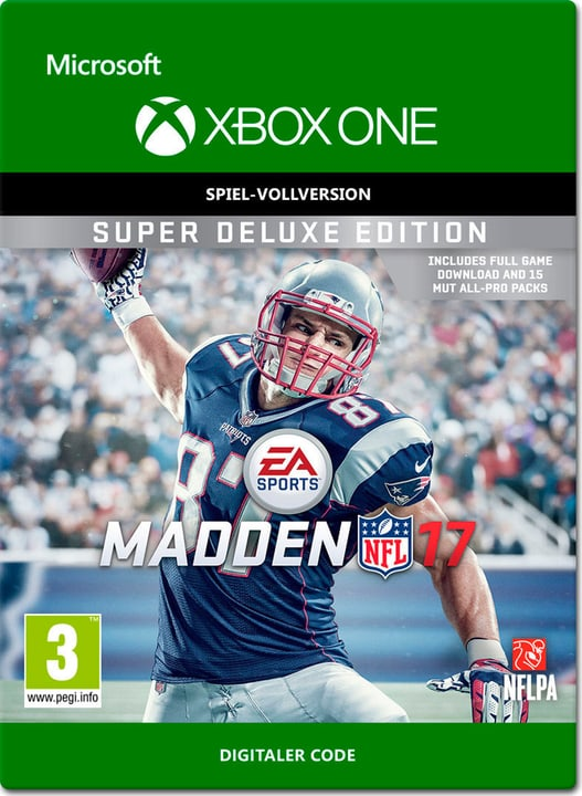 Xbox One - Madden NFL 17: Super Deluxe Edition Download (ESD) 785300137366 N. figura 1