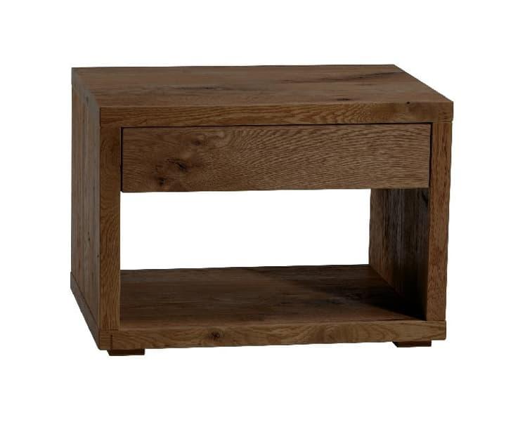CUBO Table de chevet HASENA 403259385029 Dimensions L: 60.0 cm x P: 46.0 cm x H: 43.0 cm Couleur Chêne brut Photo no. 1