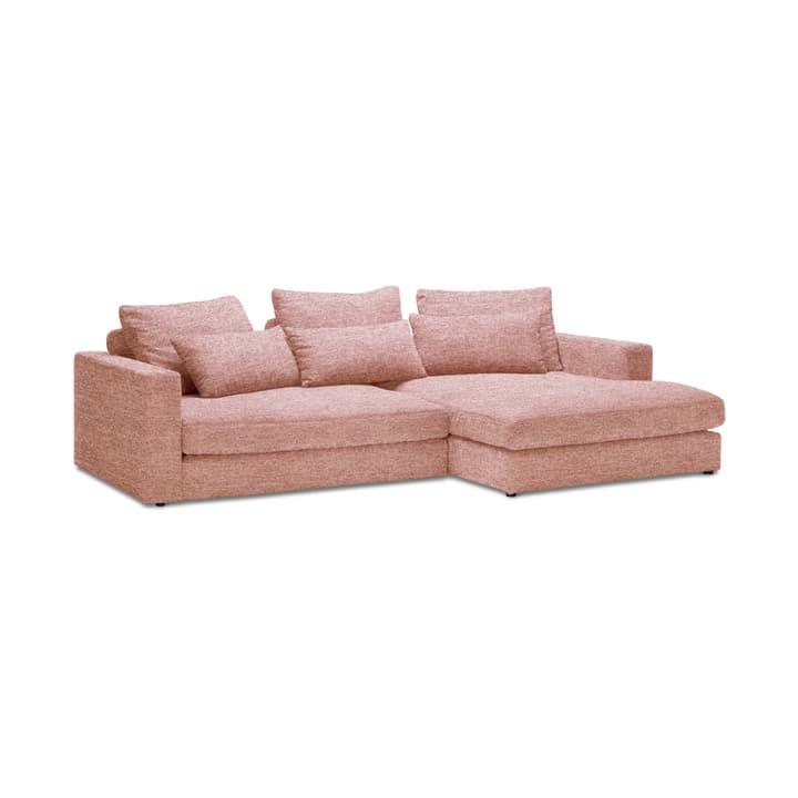 DARWIN Canapé d'angle 2pl/Rec 360444350038 Couleur Rose Dimensions L: 269.0 cm x P: 170.0 cm x H: 78.0 cm Photo no. 1