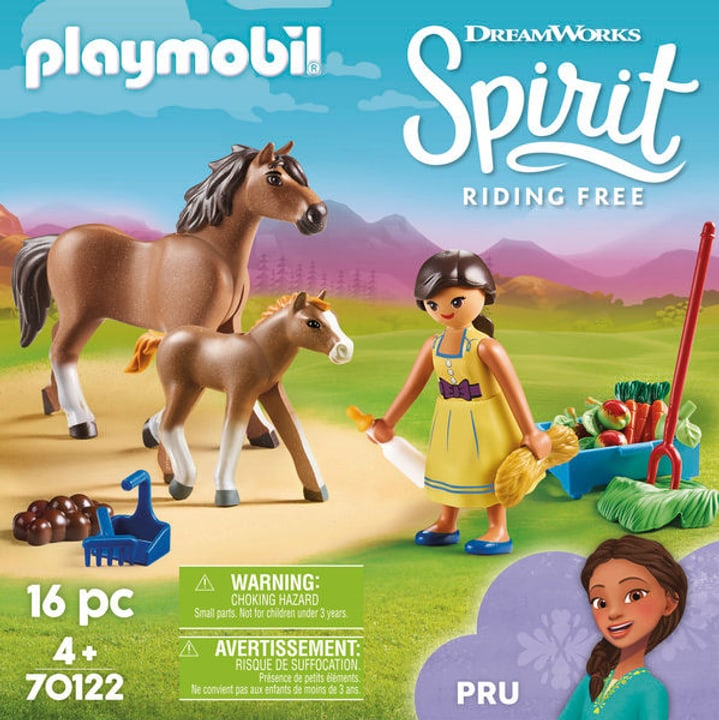 PLAYMOBIL 70122 Pru con cavallo 748015100000 N. figura 1