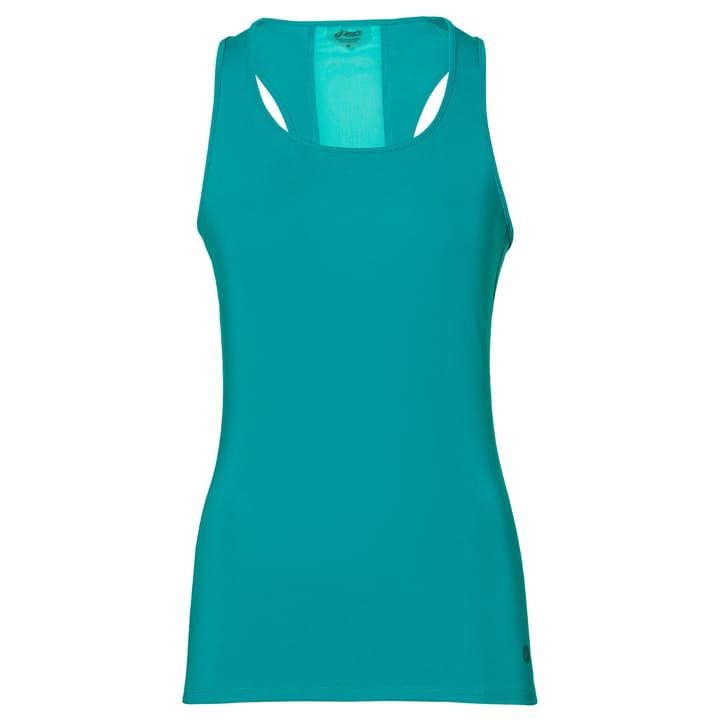 FITTED TANK Haut pour femme Asics 470145000644 Couleur turquoise Taille XL Photo no. 1