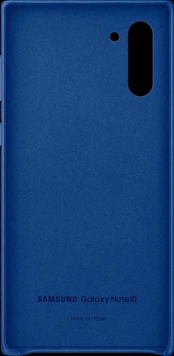 Leather Cover blue Coque Samsung 785300146392 Photo no. 1