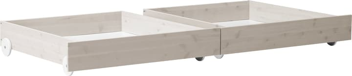 CLASSIC Tiroirs àliterie Flexa 404958600000 Dimensions L: 196.0 cm x P: 90.0 cm x H: 22.0 cm Couleur White Wash Photo no. 1
