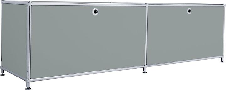FLEXCUBE Lowboard 401808800080 Grösse B: 152.0 cm x T: 40.0 cm x H: 43.0 cm Farbe Grau Bild Nr. 1